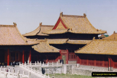 China 1993 April. (243) The Imperial Palace of Forbidden City. 243