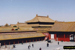 China 1993 April. (247) The Imperial Palace of Forbidden City. 247