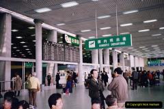 China 1993 April. (295) Leaving Beijing for Nanjing. 295