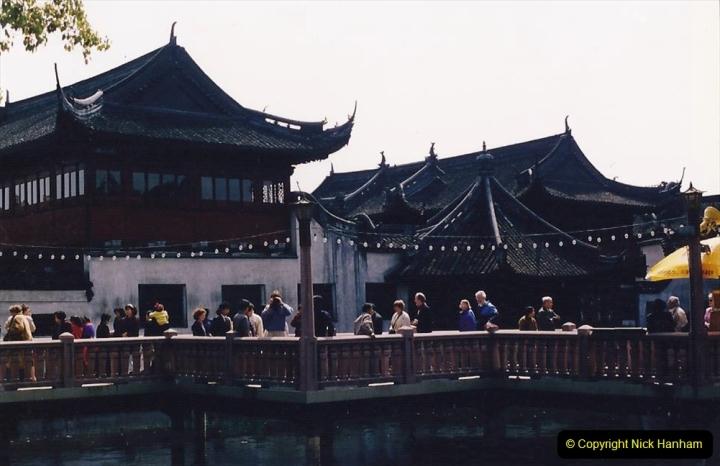 China 1993 April. (114) Yu Yuan Gardens. 114