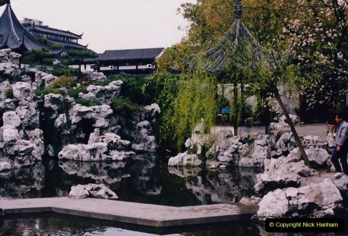 China 1993 April. (115) Yu Yuan Gardens. 115