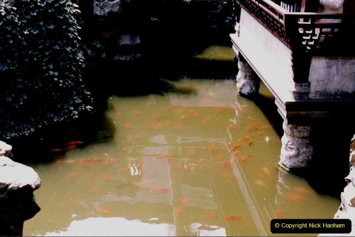 China 1993 April. (116) Yu Yuan Gardens. 116
