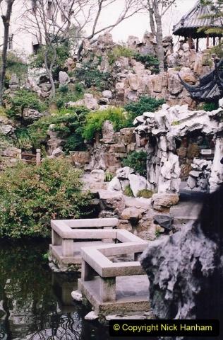 China 1993 April. (117) Yu Yuan Gardens. 117