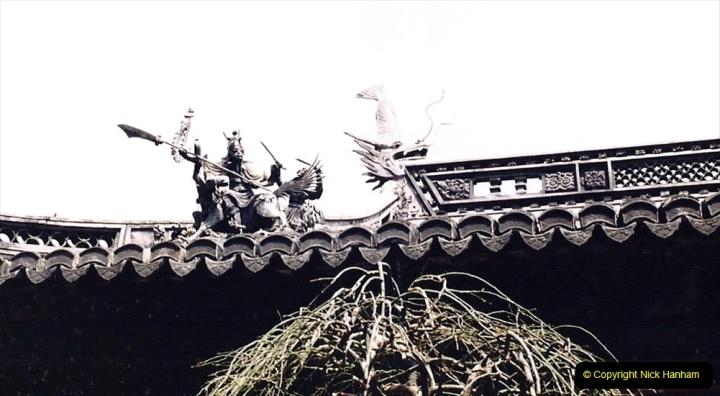 China 1993 April. (120) Yu Yuan Gardens. 120
