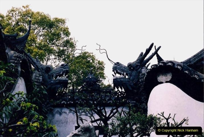 China 1993 April. (121) Yu Yuan Gardens. 121
