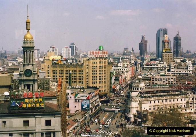 China 1993 April. (125)  Shanghai. 125