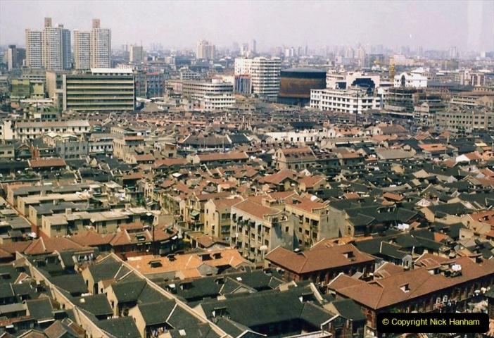 China 1993 April. (126)  Shanghai. 126