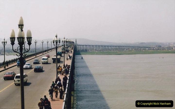 China 1993 April. (19) Nanjing Bridge over the Yangtze River. 028