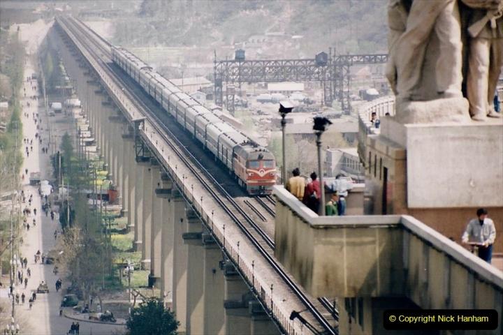 China 1993 April. (20) Nanjing Bridge over the Yangtze River. 029