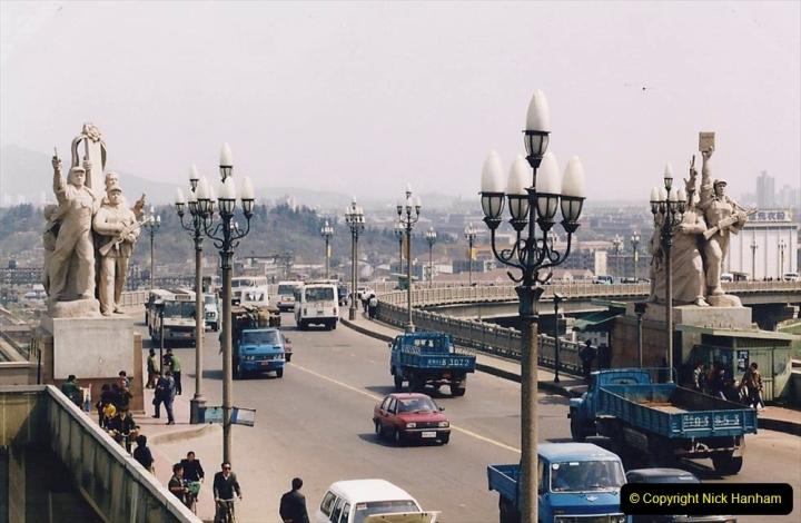 China 1993 April. (23) Nanjing Bridge over the Yangtze River. 032