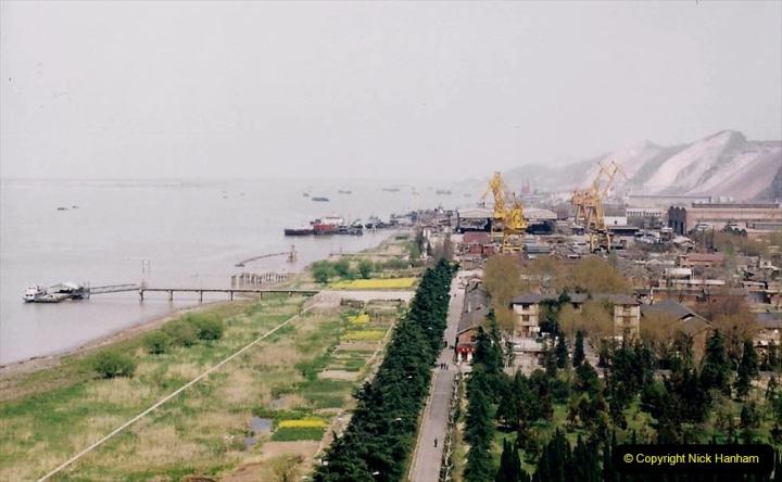 China 1993 April. (24) Nanjing Bridge over the Yangtze River. 033