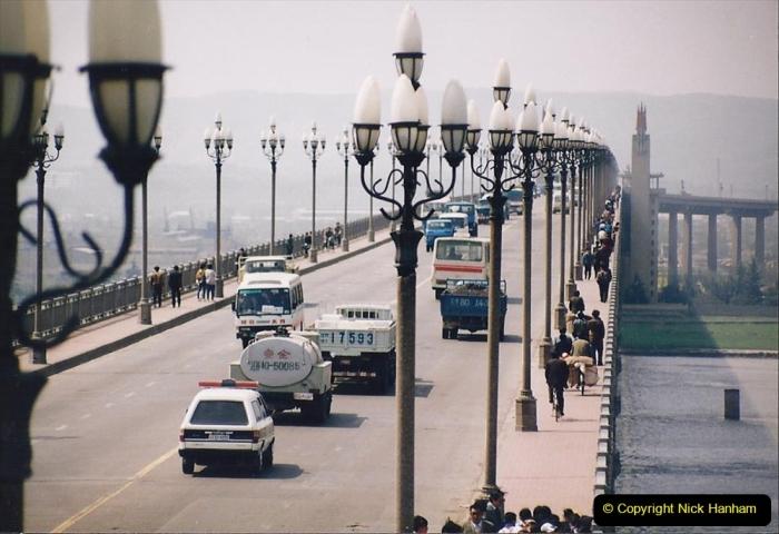 China 1993 April. (25) Nanjing Bridge over the Yangtze River. 034