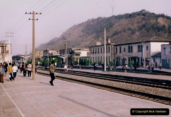 China 1993 April. (41) Nanjing to Wuxi. 041