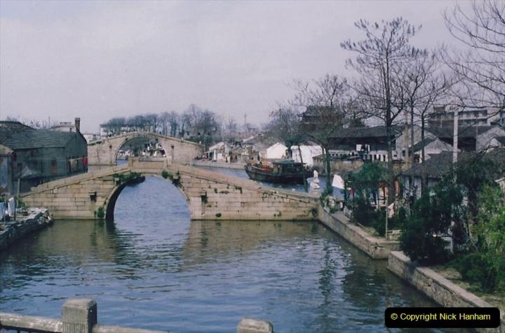 China 1993 April. (89) Suzhou like Venis.  089
