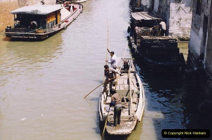 China 1993 April. (91) Suzhou like Venis.  091