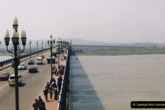 China 1993 April. (19) Nanjing Bridge over the Yangtze River. 028