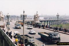 China 1993 April. (22) Nanjing Bridge over the Yangtze River. 031