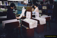 China 1993 April. (55) Number !ilk Factory in Wuxi. 055