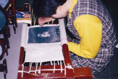 China 1993 April. (57) Number !ilk Factory in Wuxi. 057