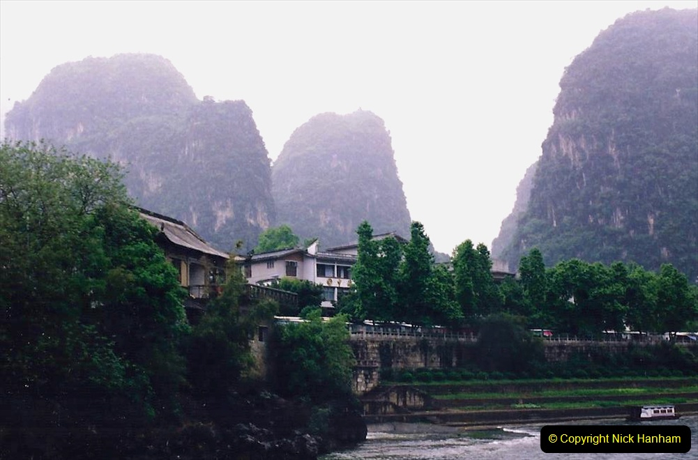 China 1993 April. (102) On the Li or Lijiang River  to Yangshuo. 102