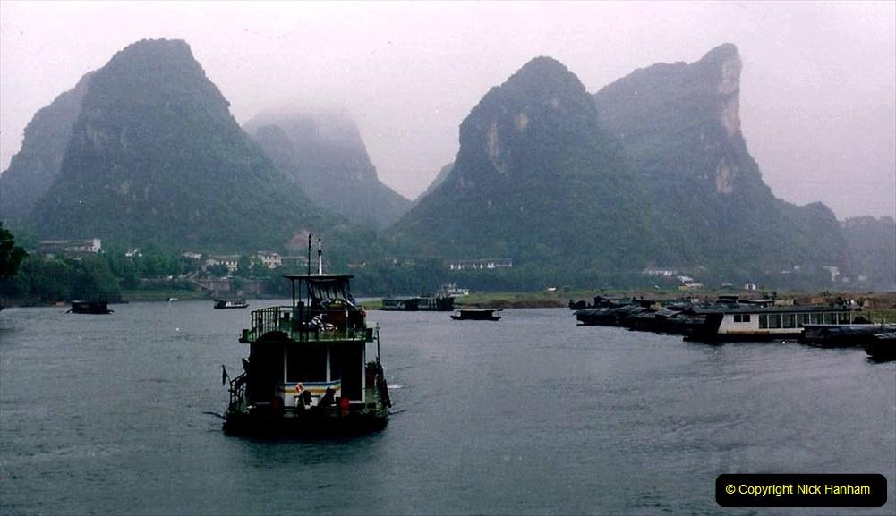China 1993 April. (104) On the Li or Lijiang River  to Yangshuo. 104