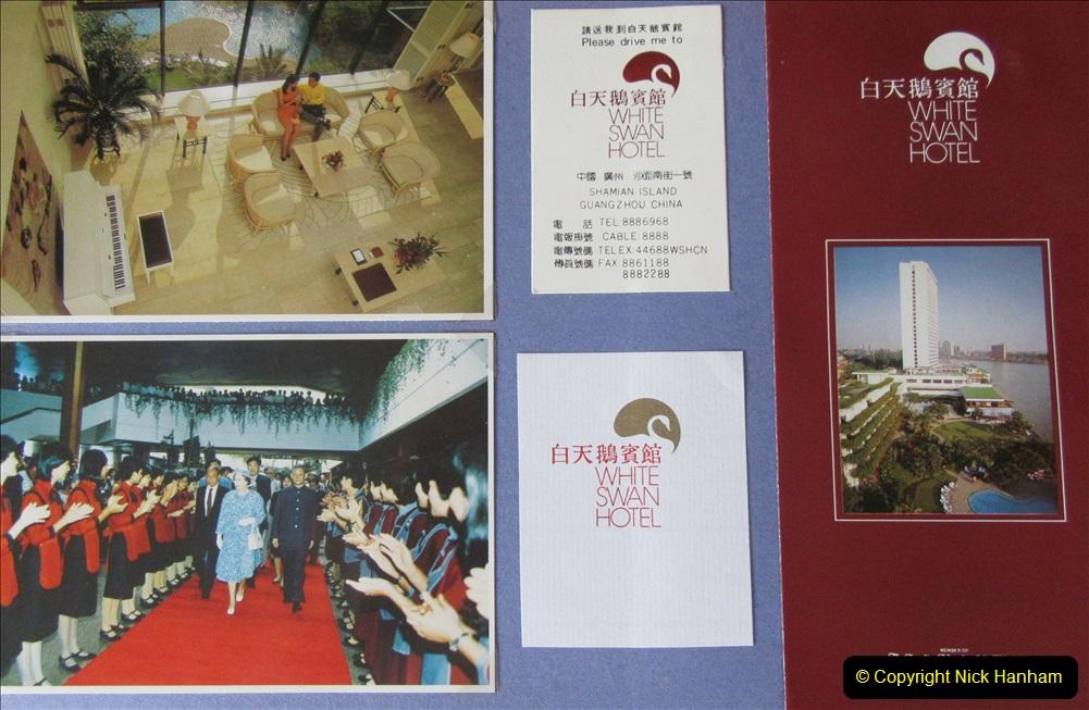 China 1993 April. (141)  White Swan Hotel Guangzhou. 136