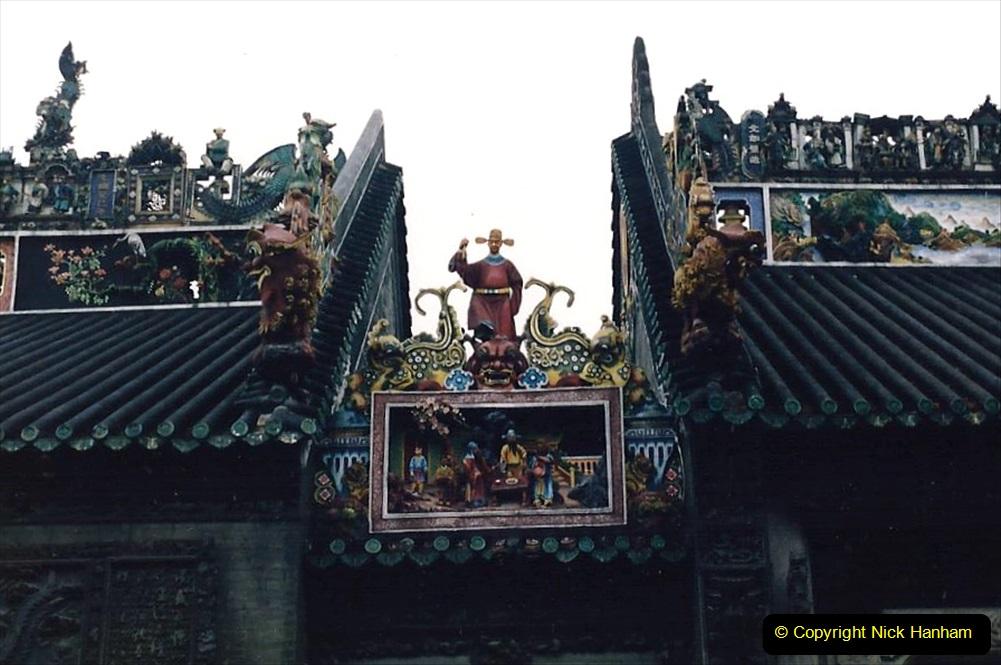 China 1993 April. (149) Temple in Guangzhou. 145