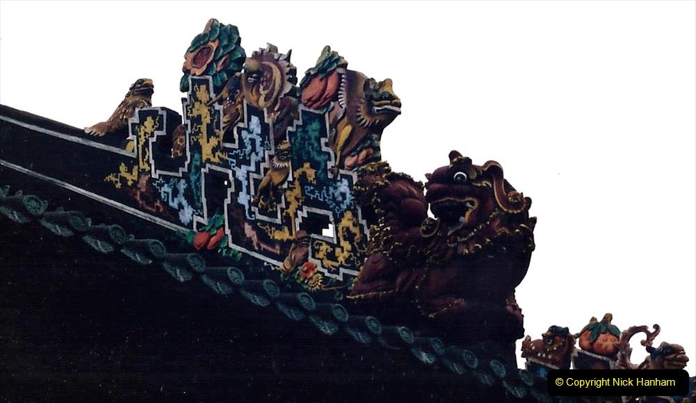 China 1993 April. (150) Temple in Guangzhou. 148