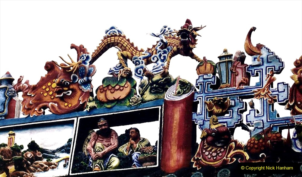 China 1993 April. (151) Temple in Guangzhou. 151