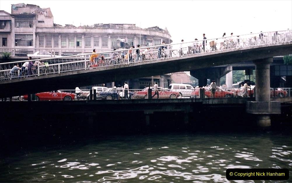 China 1993 April. (153) The Pearl River Guangzhou. 153