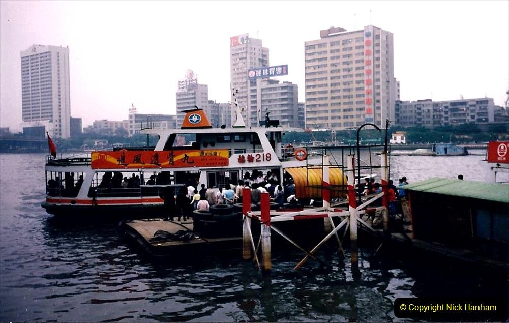 China 1993 April. (155) The Pearl River Guangzhou. 155