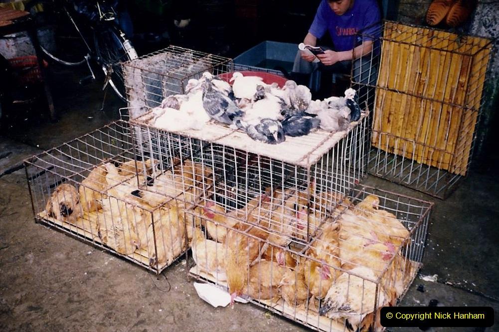China 1993 April. (158) Guangzhou Market. 158
