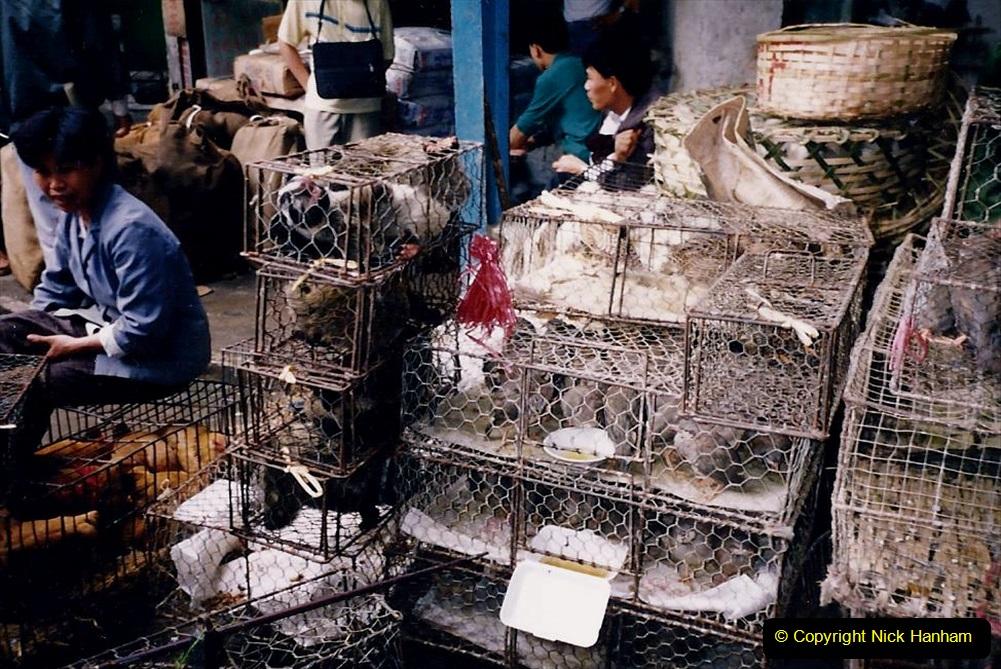 China 1993 April. (162) Guangzhou Market. 162