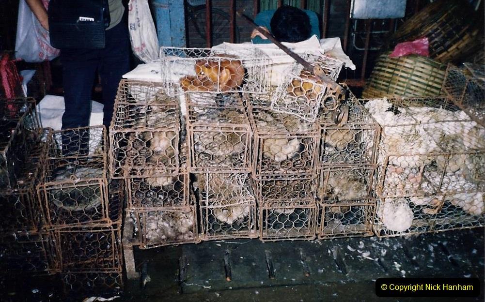 China 1993 April. (164) Guangzhou Market. 164