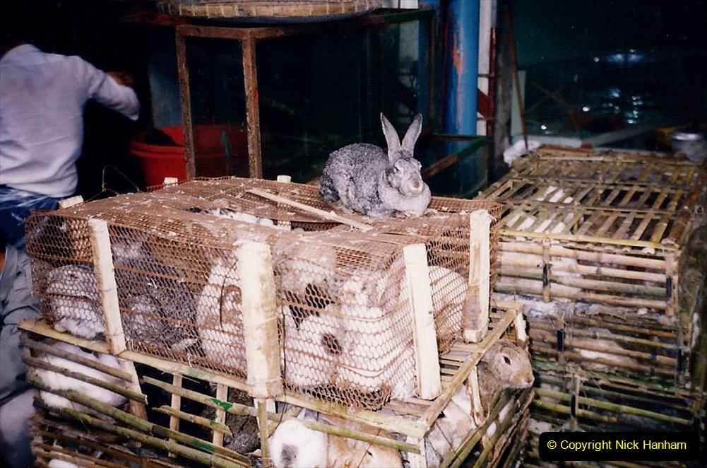 China 1993 April. (165) Guangzhou Market. 165