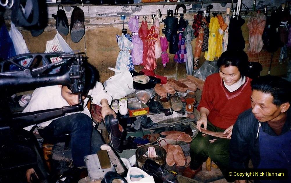 China 1993 April. (172) Guangzhou Market. 172