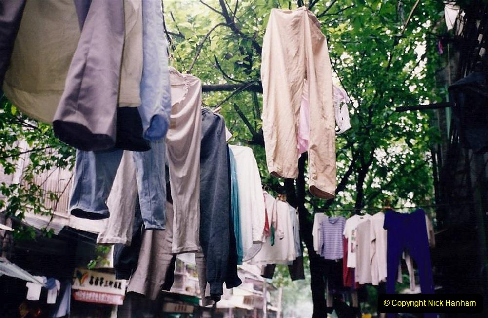 China 1993 April. (173) Streets of Guangzhou. 173