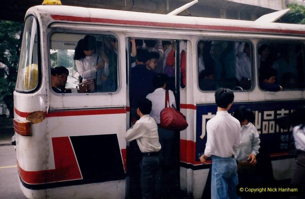 China 1993 April. (176) Streets of Guangzhou. 176