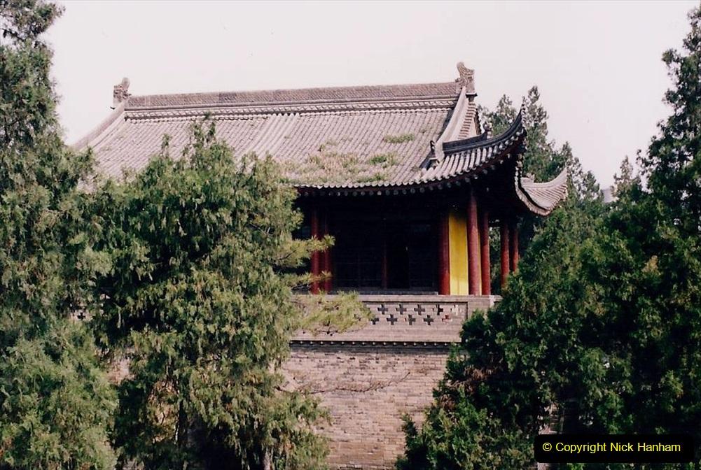 China 1993 April. (31) The Small Wild Goose Pagoda in Xain. 031