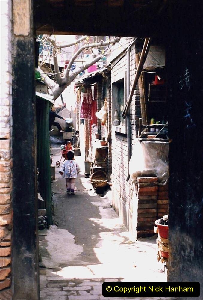 China 1993 April. (48) Xain Market.  048