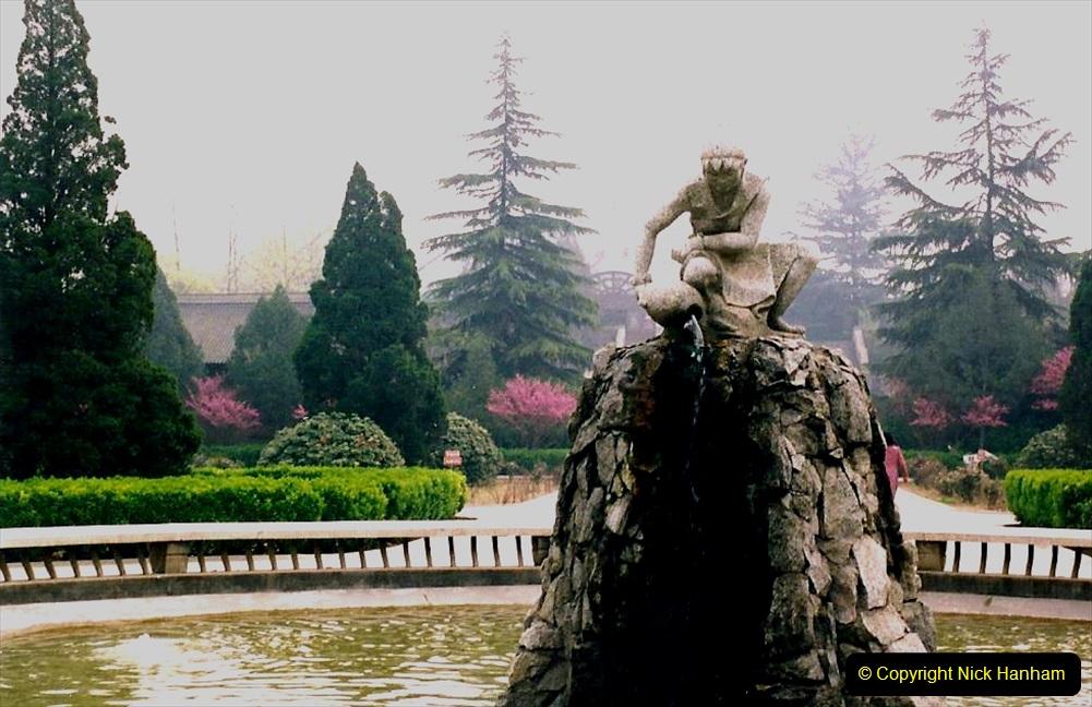 China 1993 April. (6) Banpo Village Museum. 006