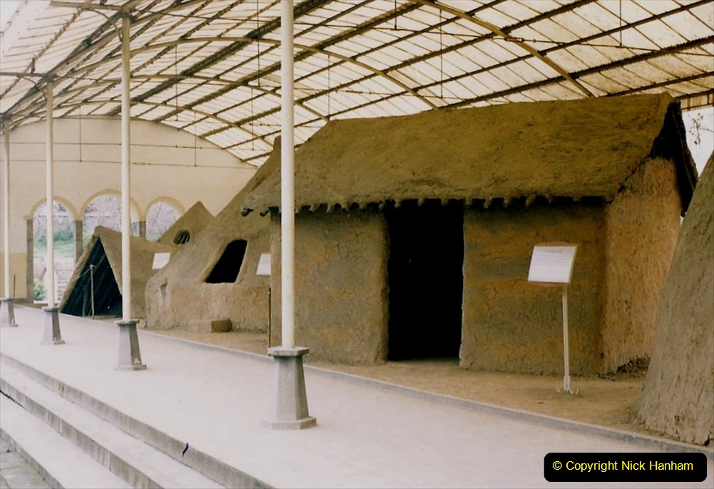 China 1993 April. (7) Banpo Village Museum. 007