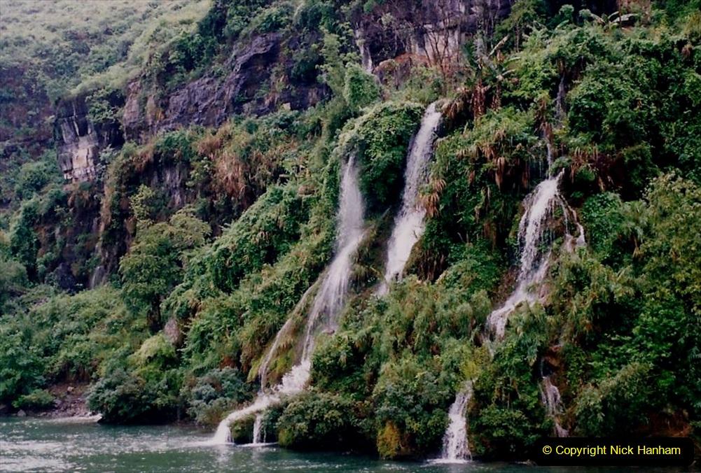 China 1993 April. (87) On the Li or Lijiang River  to Yangshuo. 087