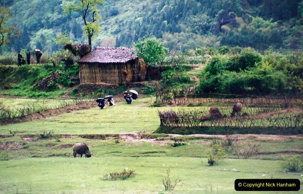 China 1993 April. (90) On the Li or Lijiang River  to Yangshuo. 090
