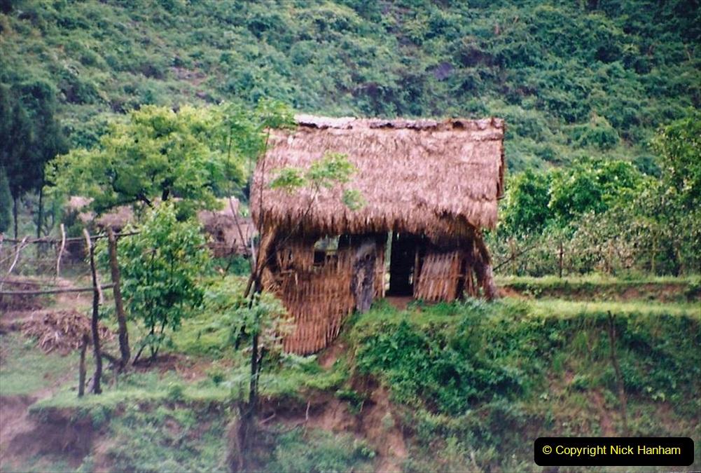 China 1993 April. (91) On the Li or Lijiang River  to Yangshuo. 091