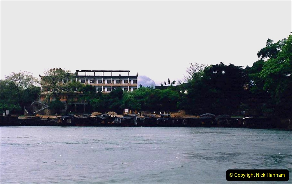 China 1993 April. (95) On the Li or Lijiang River  to Yangshuo. 095