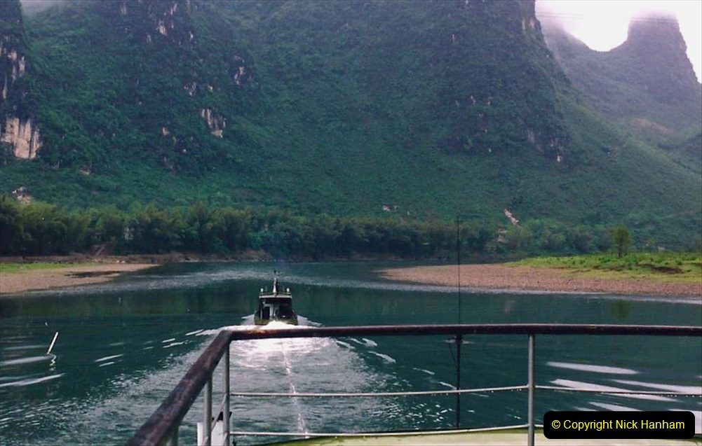 China 1993 April. (96) On the Li or Lijiang River  to Yangshuo. 096