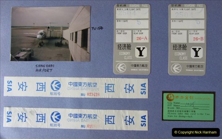 China 1993 April. (1) Shanghai to Xian. 001