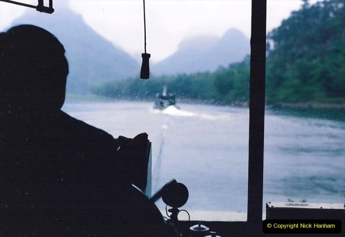 China 1993 April. (100) On the Li or Lijiang River  to Yangshuo. 100