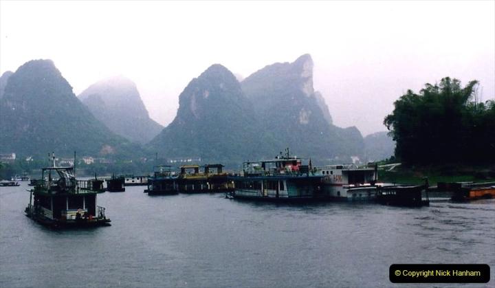 China 1993 April. (106) On the Li or Lijiang River  to Yangshuo. 106